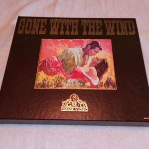 GONE WITH THE WIND VHS HOME VIDEO MOVIE